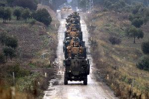 Na ofenzívu v Sýrii Turecko využíva aj nemecké tanky.