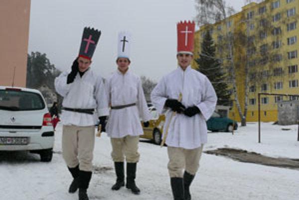 Traja králi v Hriňovej.