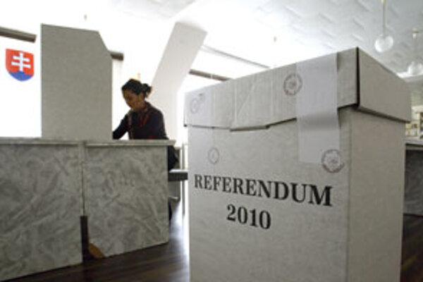 Referendum je neplatné.