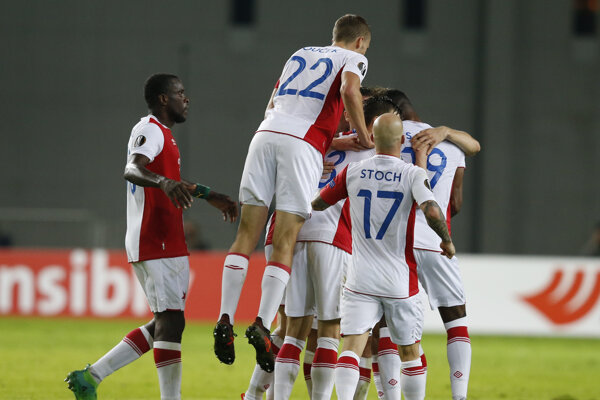 Slavia triumfovala v Brne.