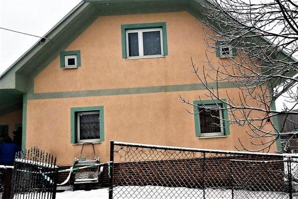Dom, v ktorom sa udiala tragédia.