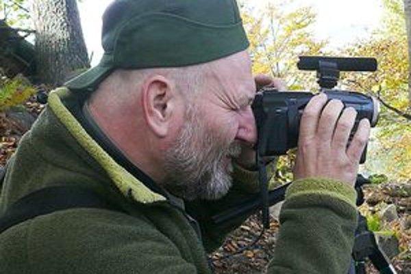 Za desať rokov natočil Ján Poláček stovky unikátnych záberov.