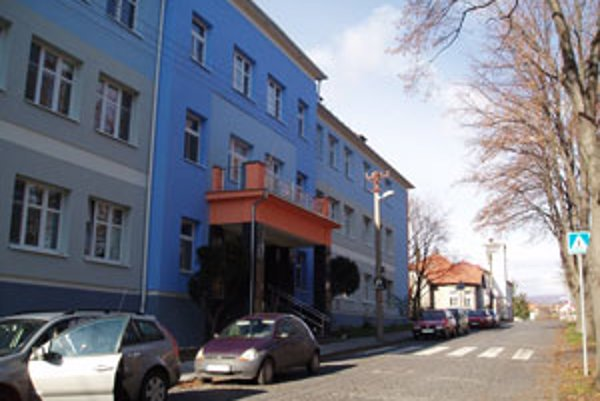 Krupinská nemocnica.