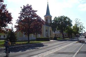 Kostol v Bergu.