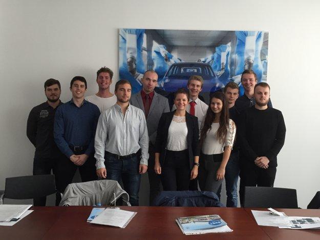 Prvé dva ročníky absolvujú študenti na strojníckej fakulte, pričom počas letných prázdnin budú praxovať vo Volkswagen Slovakia už na konkrétnych úlohách.