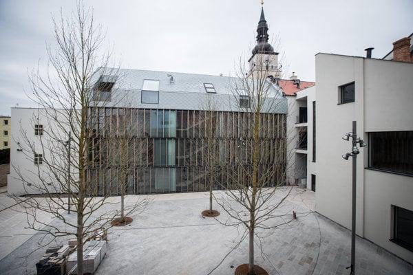 Trnavské kultúrne centrum Nádvorie otvorili len pred pár dňami.