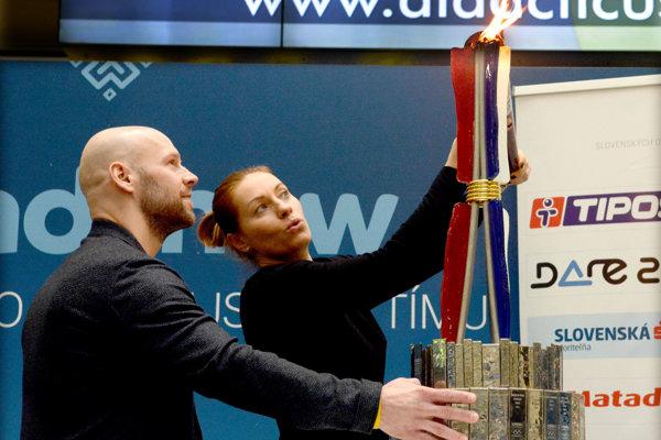 Jiří Bicek a Zuzana Žirková na akcii Roadshow.