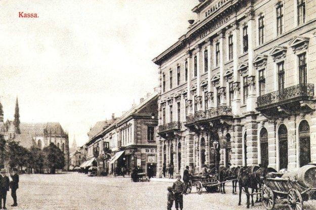 Hotel Schalkház, dejisko mnohých koncertov.