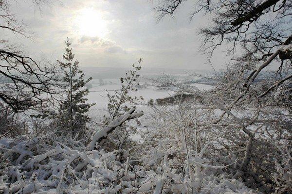 Na takýto biely obraz si v niektorých častiach Slovenska ešte počkáme.