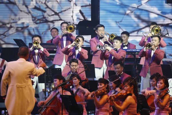 Koncert severokórejského orchestra sa konal deň pred otváracím ceremoniálom.