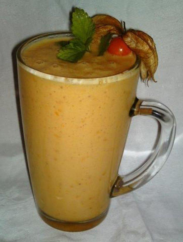 Broskyňové smoothie