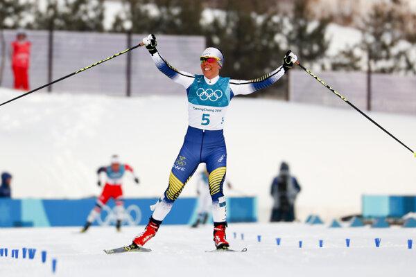 Charlotte Kallová si prichádza pre olympijské zlato.