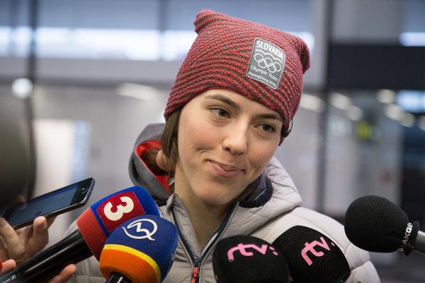 Slovenská lyžiarka Petra Vlhová.