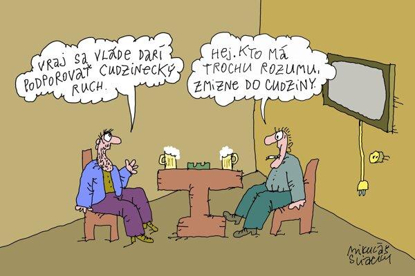 Cudzinecký ruch po slovensky (Sliacky)