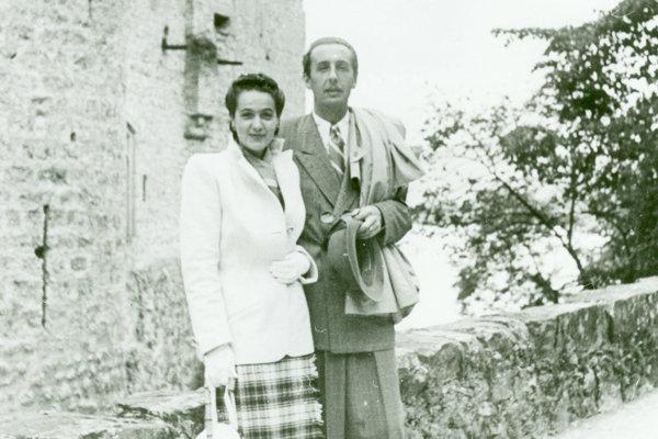 Manželia Martinčekovci, 1947.