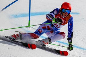 18e6af2bf Petra Vlhová počas druhého kola obrovského slalomu na olympiáde (12  fotografií)