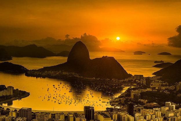 Brazília. Cukrová homoľa
