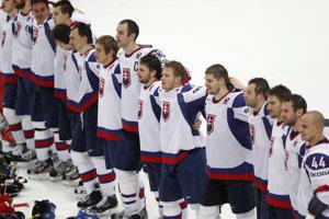 Hymna v podaní slovenských hokejových reprezentantov na majstrovstvách sveta 2012.