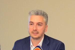 Rastislav Trnka. Župan bol po stretnutí s ministrom dopravy rozladený.