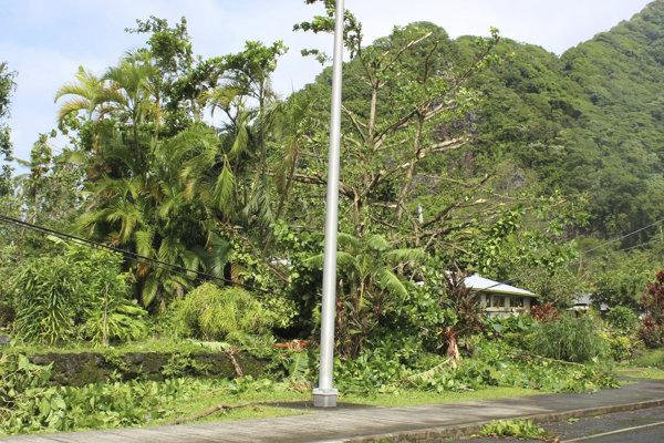 Gita napáchala veľké škody v tichomorských ostrovných štátoch Tonga, Samoa a Fidži.