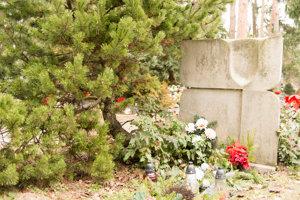 Na citoríne sa nachádza ešte veľa hrobov s typizovanými náhrobnými kameňmi.