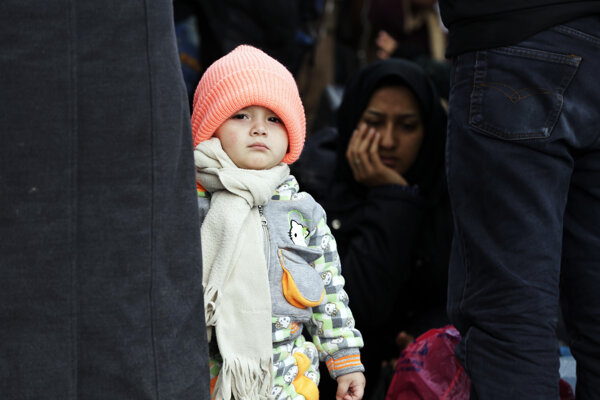 Utečenci prichádzajú do Grécka aj počas zimy.