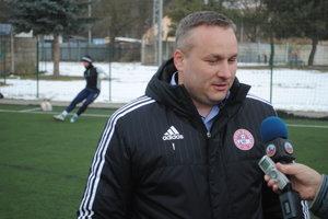 Prezident klubu Stanislav Soroka na tréningu odpovedal na otázky novinárov.