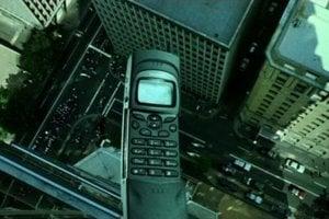 Záber z filmu Matrix.