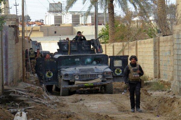Iracké bezpečnostné jednotky. (Ilustračné foto)
