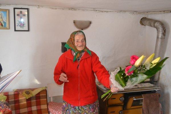 Viktória Kopásková zo Zákysučia oslávila životné jubileum 95 rokov.