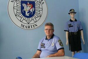 Adrián Antoš, zástupca náčelníka Mestskej polície vMartine.