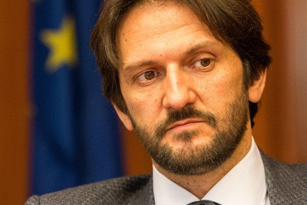 Minister vnútra Robert Kaliňák (Smer-SD)