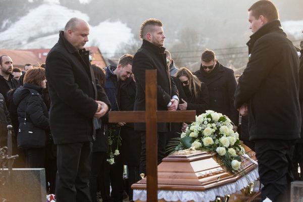 Posledná rozlúčka s Jánom Kuciakom.