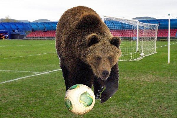 Aj futbalisti majú zábavné mená. Po trávnikoch behá aj Medveď.