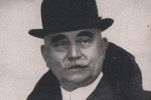 Eugen Rozsics, od r. 1911 veliteľ košických hasičov.
