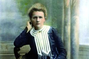 Marie Curie Skłodowska.