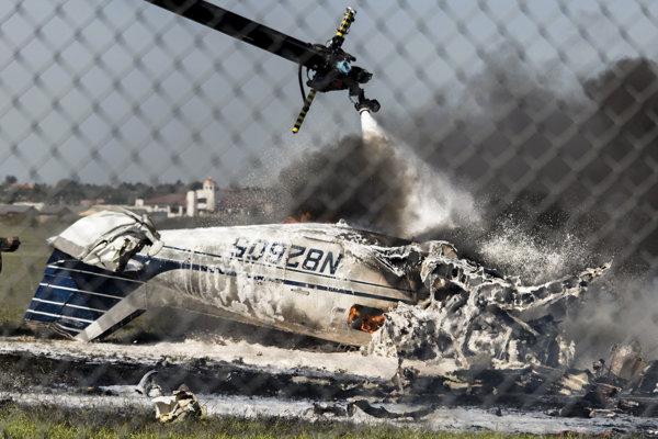 Po havárii letisko uzavreli pre všetky komerčné aj nákladné lety.