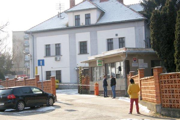 Policajný areál na Kalvárii, v ktorom bude sídliť druhé obvodné oddelenie.