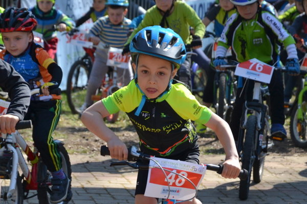 Lučenecká etapa Detskej Tour Petra Sagana 2017.