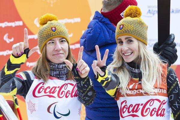 Henrieta Farkašová (vľavo) a Natália Šubrtová.