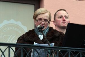 Mama Martiny Kušnírovej.