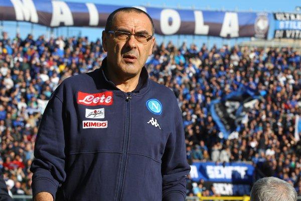 Futbalový tréner Maurizio Sarri.