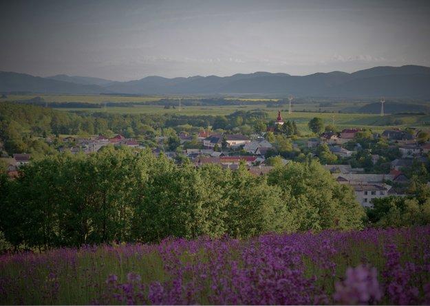 Obec Slaská. Jej fotografia sa nachádza na zadnom obale CD.