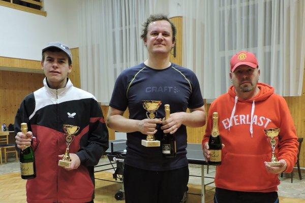 Vľavo Erik Eckhardt a vpravo Jozef Eckhardt.