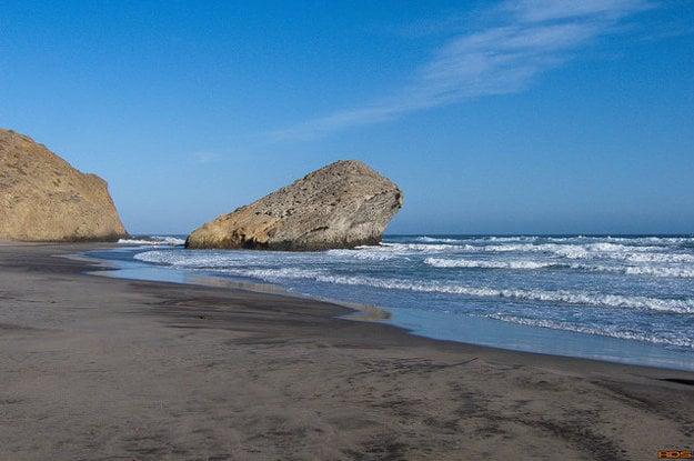 San José, pláž de Monsul
