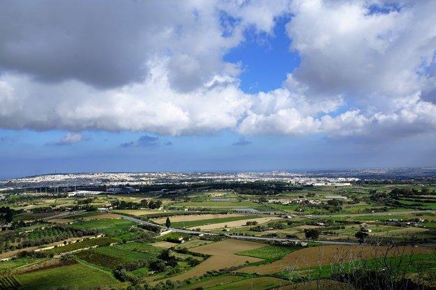 Krajina na Malte.