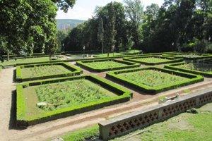 Panská záhrada. Hlohovec.