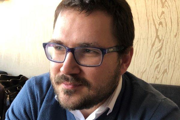 Bývalý redaktor Lukáš Milan.