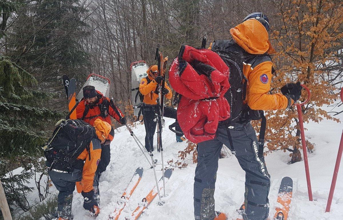 5caa625ebf Skialpinista z Čiech sa zranil pod Malým Kriváňom - SME