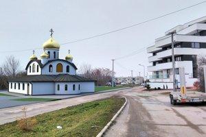 Vizualizácia chrámu na Rázusovej ulici.